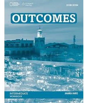 Рабочая тетрадь Outcomes 2nd Edition Intermediate Workbook + Audio CD