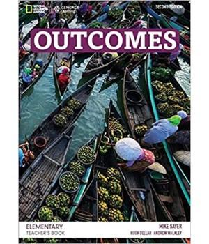 Книга для вчителя Outcomes 2nd Edition Elementary Teacher's Book + Class Audio CD
