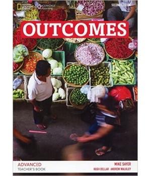 Книга для вчителя Outcomes 2nd Edition Advanced Teacher's Book + Class Audio CD