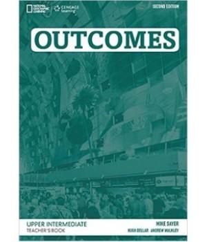 Книга для вчителя Outcomes 2nd Edition Upper-Intermediate Teacher's Book + Class Audio CD