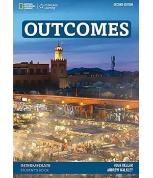 Учебник Outcomes 2nd Edition Intermediate Student's Book + Class DVD