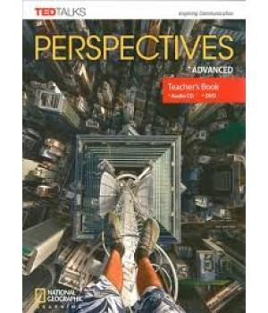 Книга для вчителя Perspectives Advanced Teacher's Book with Audio CD & DVD