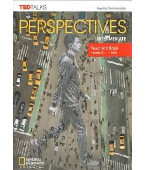 Книга для вчителя Perspectives Intermediate Teacher's Book with Audio CD & DVD