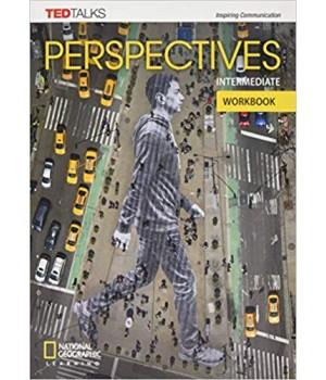 Робочий зошит Perspectives Intermediate Workbook with Audio CD