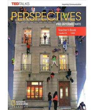 Книга для вчителя Perspectives Pre-Intermediate Teacher's Book with Audio CD & DVD