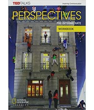 Робочий зошит Perspectives Pre-Intermediate Workbook with Audio CD