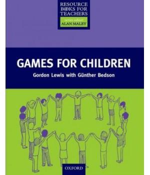 Книга для вчителя Games for Children