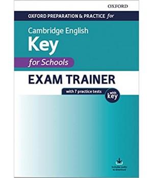 Підготовка до іспиту Oxford Preparation and Practice for Cambridge English A2 Key for Schools Exam Trainer with Key