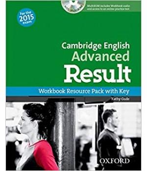 Рабочая тетрадь Cambridge English Advanced Result Workbook with Key with CD-ROM