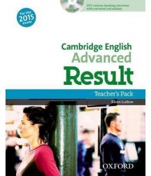 Книга для учителя Cambridge English Advanced Result Teacher's Book with DVD-ROM