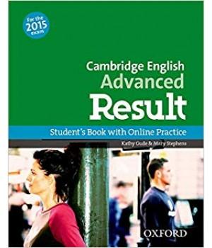 Учебник Cambridge English Advanced Result Student's Book with Online Skills Practice