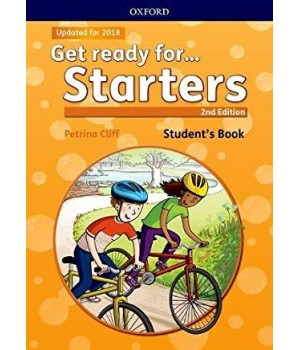 Підручник Get Ready for Starters 2nd Edition Student's Book with Downloadable Audio