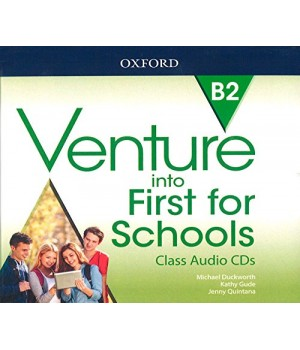 Диски Venture into First for Schools Class Audio CDs (3)