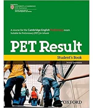 Учебник PET Result Student's Book