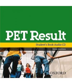 Диск PET Result Class Audio CD