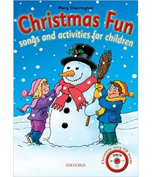 Підручник Christmas Fun Songs and Activities for Children Pack with Audio CD