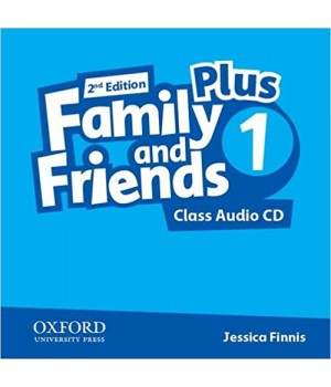 Диск Family and Friends (Second Edition) 1 Plus Class Audio CD