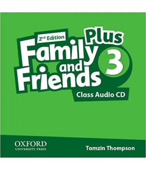 Диск Family and Friends (Second Edition) 3 Plus Class Audio CD