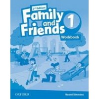 Рабочая тетрадь Family and Friends (Second Edition) 1 Workbook for Ukraine