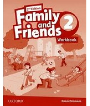 Рабочая тетрадь Family and Friends (Second Edition) 2 Workbook for Ukraine