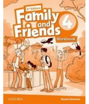 Робочий зошит Family and Friends (Second Edition) 4 Workbook