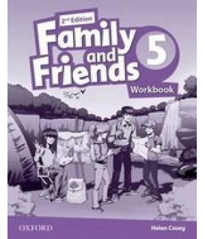 Робочий зошит Family and Friends (Second Edition) 5 Workbook