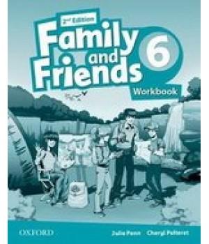 Робочий зошит Family and Friends (Second Edition) 6 Workbook