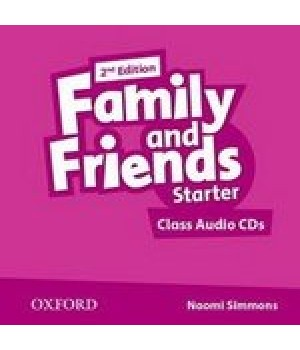 Диски Family and Friends (Second Edition) Starter Class Audio CD (2)