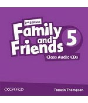 Диски Family and Friends (Second Edition) 5 Class Audio CD (2)