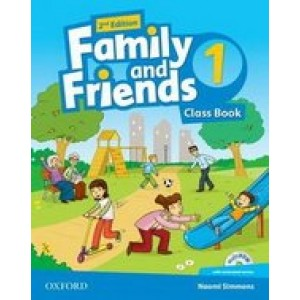 Family and Friends (Second Edition) 1 Class Book with MultiROM