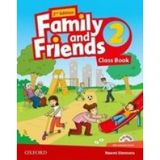 Family and Friends (Second Edition) 2 Class Book with MultiROM