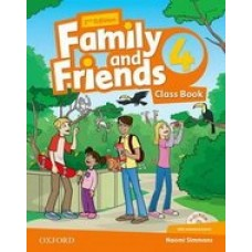 Family and Friends (Second Edition) 4 Class Book with MultiROM