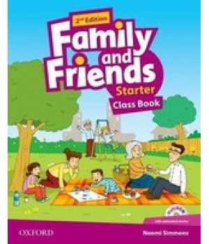 Учебник Family and Friends (Second Edition) Starter Class Book