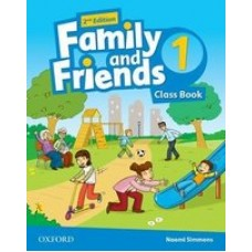 Учебник Family and Friends (Second Edition) 1 Class Book