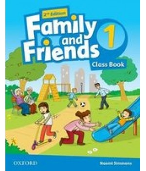 Підручник Family and Friends (Second Edition) 1 Class Book