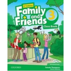 Учебник Family and Friends (Second Edition) 3 Class Book