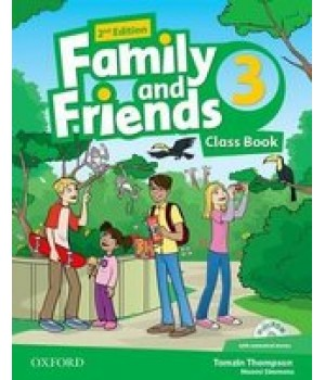 Підручник Family and Friends (Second Edition) 3 Class Book