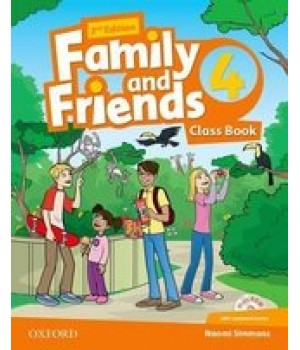 Підручник Family and Friends (Second Edition) 4 Class Book