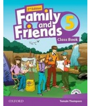 Підручник Family and Friends (Second Edition) 5 Class Book
