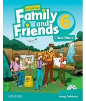 Підручник Family and Friends (Second Edition) 6 Class Book