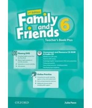 Книга для вчителя Family and Friends (Second Edition) 6 Teacher's Book