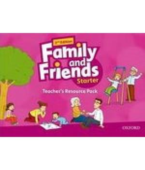 Набір для вчителя Family and Friends (Second Edition) Starter Teacher's Resource Pack