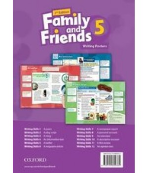 Плакати Family and Friends (Second Edition) 5 Posters