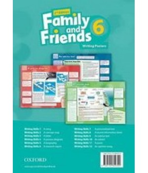 Плакати Family and Friends (Second Edition) 6 Posters