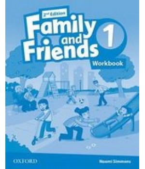 Робочий зошит Family and Friends (Second Edition) 1 Workbook for Ukraine