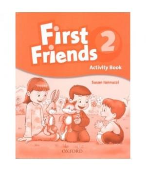 Рабочая тетрадь First Friends 2 Activity Book