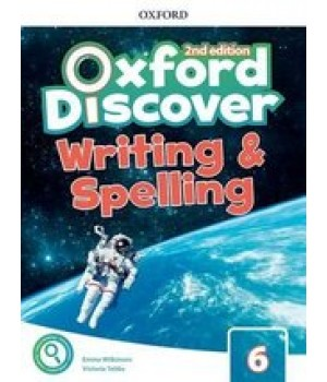 Робочий зошит Oxford Discover (2nd Edition) 6 Writing and Spelling Book