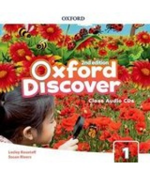 Диски Oxford Discover (2nd Edition) 1 Grammar Class Audio CDs(2)
