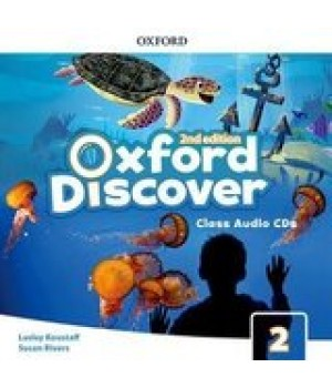 Диски Oxford Discover (2nd Edition) 2 Grammar Class Audio CDs(2)