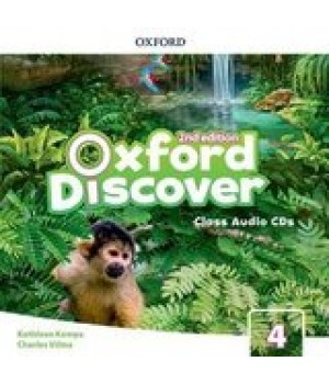 Диски Oxford Discover (2nd Edition) 4 Grammar Class Audio CDs(2)